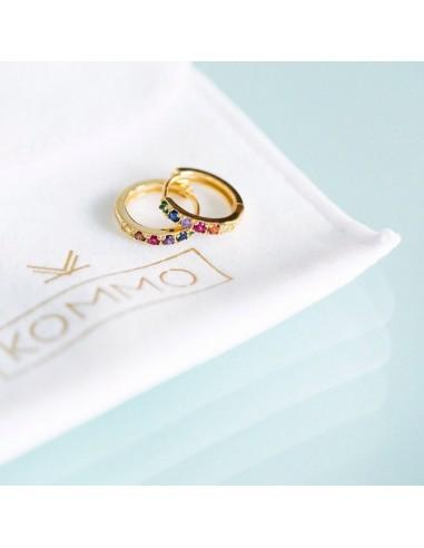 """Pendientes Kommo """"Luxury colors gold"""""""